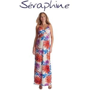 Seraphine Maternity Gown Maxi Dress 8